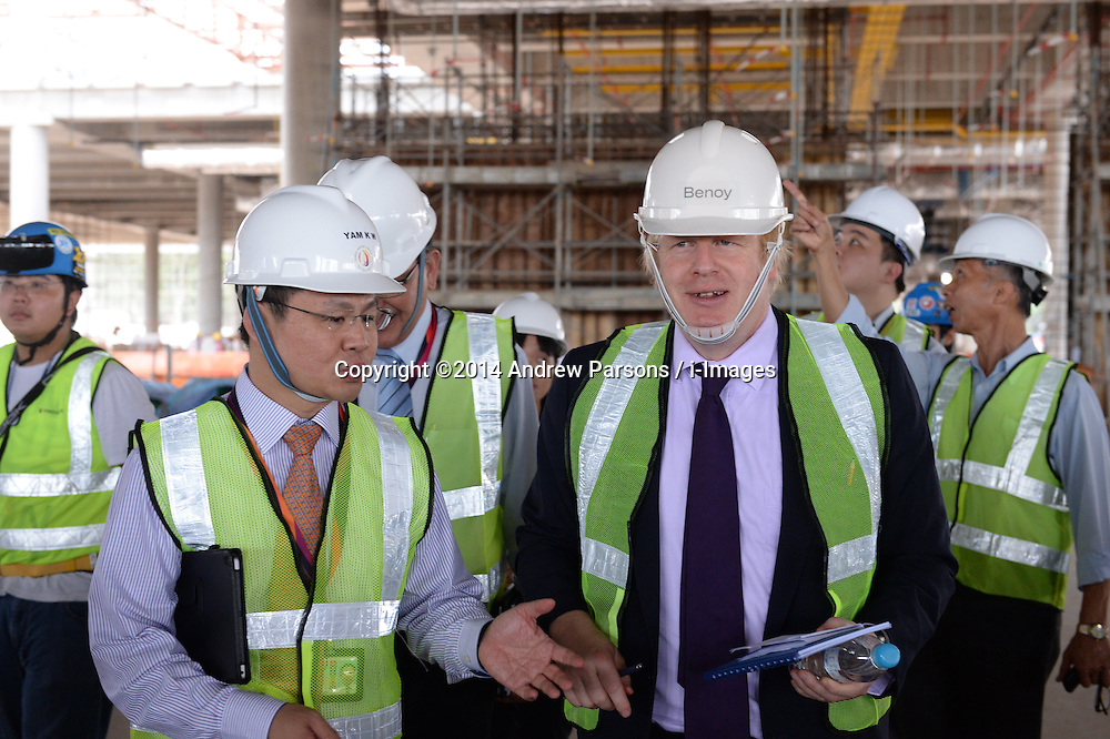 Boris Johnson Visit to Singapore | i-Images