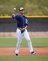 Justin Lopez - San Diego Padres 2018 spring training (Bill Mitchell)