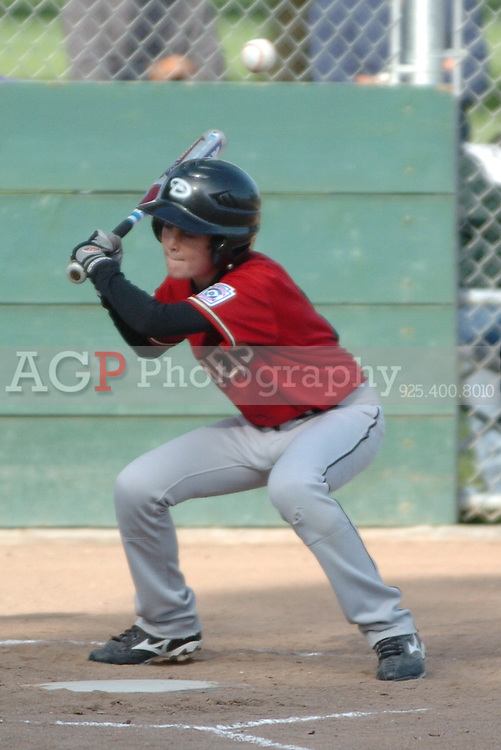 The Pleasanton National Little League Major Diamondbacks beat the Cardinals 6-2  in Pleasanton, California June 10, 2009..