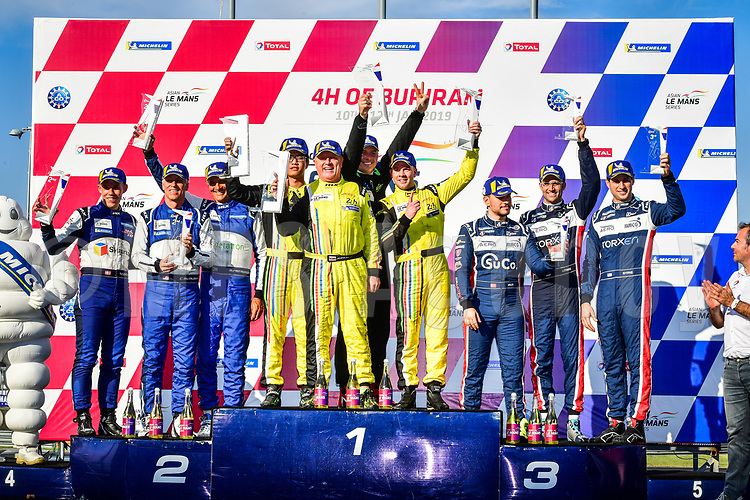 #4 ARC BRATISLAVA (SVK) LIGIER JS P2 NISSAN LMP2 MIRO KONOPKA (SVK) KANG LING (CHN) DARREN BURKE (GBR) WINNER LMP2 AM<br /> #25 ALGARVE PRO RACING (POR) LIGIER JS P2 JUDD LMP2 MARK PATTERSON (USA) ANDERS FJORDBACH (DEN) CHRISTOPHER MCMURRY (USA) SECOND LMP2 AM<br /> #23 UNITED AUTOSPORTS (GBR) LIGIER JS P2 NISSAN LMP2 GUY COSMO (USA) PATRICK BYRNE (USA) SALIH YOLUC (BRA) THIRD LMP2 AM