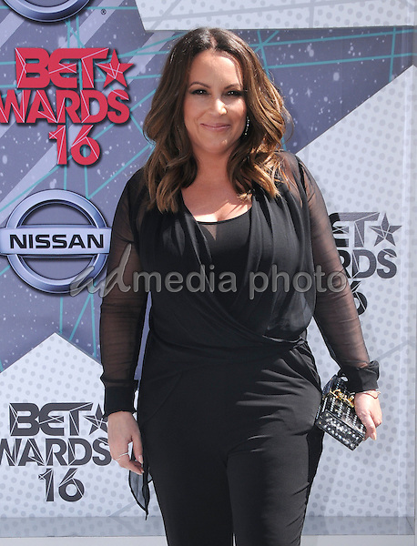 26 June 2016 - Los Angeles. Angie Martinez. Arrivals for the 2016 BET Awards held at the Microsoft Theater. Photo Credit: Birdie Thompson/AdMedia