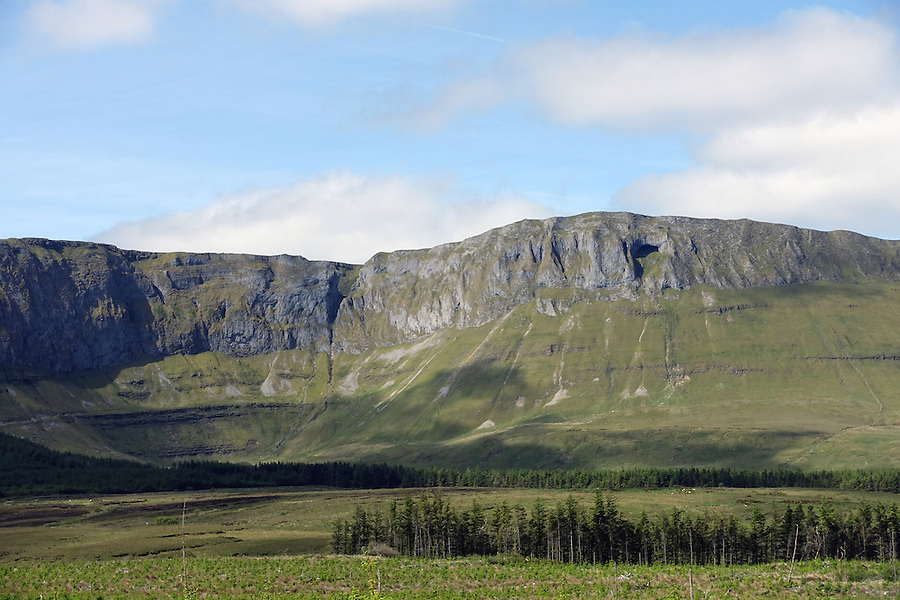 Gleniff Horseshoe, County Sligo, Ireland.