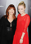 HOLLYWOOD, CA - AUGUST 01: Frances Fisher and Francesca Eastwood arrives at the Los Angeles Premiere of 'Total Recall' at Grauman's Chinese Theatre on August 1, 2012 in Hollywood, California.