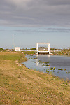 A canal lock helps water management along the Tamiami Canal.