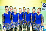 l-r  Ciara Moynihan, Melissa Carroll, Laura Buckley, Erin Holland, Orla Spillane, Elena O'Donoghue, Niamh Kelly and Grainne Spillane from Killarney. at the Listowel Fleadh Ceoil Munster Junior Set and Ceilí Dancing Finals  St Michaels Gym Hall, Listowel on Friday