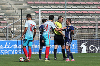 Tempers flare involving Scotland's Liam Burt and Faith Aksoy of Turkey U21's during Turkey Under-21 vs Scotland Under-21, Tournoi Maurice Revello Football at Stade Francis Turcan on 9th June 2018