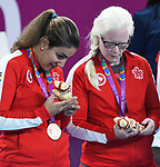 Goalball women  bronze medal at the 2019 ParaPan American Games in Lima, Peru-31aug2019-Photo Scott Grant