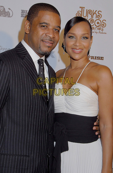 MICHAEL MISICK & LISARAYE MISICK.Black Enterprise Top 50 Hollywood Power Brokers List Party held at the Beverly Wilshire Four Seasons, Beverly Hills, California, USA, 21 February 2007..half length.CAP/ADM/GB.©Gary Boas/AdMedia/Capital Pictures.