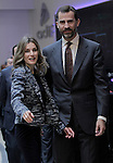 Prince and Princess of Asturias visited Rail Control Center of Miranda de Ebro on October 6th 2010, Burgos, Spain..Photo: Acero / ALFAQUI