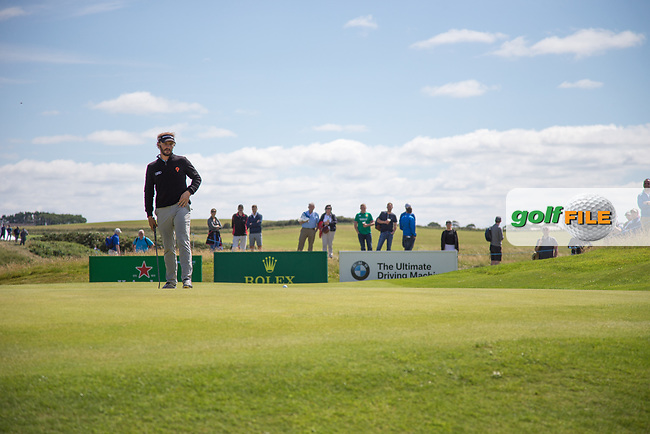Joost Luiten (NED) on the 15th during the 3rd round at the Dubai Duty Free Irish Open hosted by the Rory Foundation, at Portstewart Golf Club, Portstewart, Co. Derry, Northern Ireland. 08/07/2017<br /> Picture: Golffile | Fran Caffrey<br /> <br /> <br /> All photo usage must carry mandatory copyright credit (&copy; Golffile | Fran Caffrey)