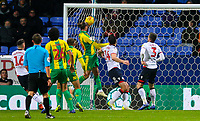 West Bromwich Albion's Jay Rodriguez scores the opening goal <br /> <br /> Photographer Alex Dodd/CameraSport<br /> <br /> The EFL Sky Bet Championship - Bolton Wanderers v West Bromwich Albion - Monday 21st January 2019 - University of Bolton Stadium - Bolton<br /> <br /> World Copyright © 2019 CameraSport. All rights reserved. 43 Linden Ave. Countesthorpe. Leicester. England. LE8 5PG - Tel: +44 (0) 116 277 4147 - admin@camerasport.com - www.camerasport.com