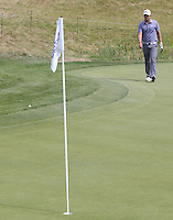 A tricky chip from the 16th green for Bernd Wiesberger (AUT) gets caught in the fringe cut during Round Three of the 2015 Alstom Open de France, played at Le Golf National, Saint-Quentin-En-Yvelines, Paris, France. /04/07/2015/. Picture: Golffile | David Lloyd<br /> <br /> All photos usage must carry mandatory copyright credit (© Golffile | David Lloyd)