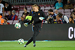 League Santander 2017/2018. Game: 05.<br /> FC Barcelona vs SD Eibar: 6-1.<br /> Jasper Cillessen.