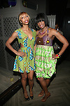 DJ C-Devone and DJ Nadia Vidal Wearing Royal Jelly Harlem Designs at DJ Jon Quick's 5th Annual Beauty and the Beat: Heroines of Excellence Awards Honoring AMBRE ANDERSON, DR. MEENA SINGH,<br /> JESENIA COLLAZO, SHANELLE GABRIEL, <br /> KRYSTAL GARNER, RICHELLE CAREY,<br /> DANA WHITFIELD, SHAWN OUTLER,<br /> TAMEKIA FLOWERS Held at Suite 36, NY