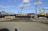 Construction Progress Photos New Haven Rail Yard New Independent Wheel True Facility | 2012-01-18