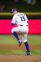 Winston-Salem Dash relief pitcher Colin Kleven (25) in action against the Frederick Keys at BB&T Ballpark on May 24, 2016 in Winston-Salem, North Carolina.  The Keys defeated the Dash 7-1.  (Brian Westerholt/Four Seam Images)