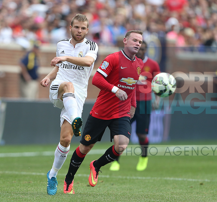 Asier Illarramendi of Real Madrid - International Champions Cup 2014 - Manchester United vs Real Madrid - Michigan Stadium - Ann Arbor - USA - 2nd August 2014 - Picture David Klein/Sportimage