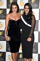 LONDON, UK. March 19, 2019: Faye Brookes & Saira Khan arriving for the Royal Television Society Awards 2019 at the Grosvenor House Hotel, London.<br /> Picture: Steve Vas/Featureflash