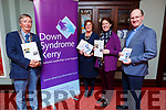Attending the Tralee Rotary Club launch of the African Bike Project in partnership wit Kerry Down Syndrome in the Imperial Hotel on Tuesday..<br /> L to r: Pierce Wall (President Tralee Rotary Club ), Grace O'Donnell (President Elect Tralee Rotary Club), Rachel Fitzgerald (Down Syndrome Kerry) and Fr Padraig Walsh PP.