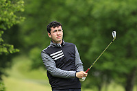 Ross Latimer on the 2nd tee during Round 4 of the Connacht Stroke Play Championship 2019 at Portumna Golf Club, Portumna, Co. Galway, Ireland. 09/06/19<br /> <br /> Picture: Thos Caffrey / Golffile<br /> <br /> All photos usage must carry mandatory copyright credit (© Golffile | Thos Caffrey)