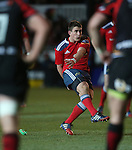 Munster outside half Ian Keatley kicks a penalty.<br /> RaboDirect Pro12<br /> Newport Gwent Dragons v Munster<br /> Rodney Parade - Newport<br /> 29.11.13<br /> &copy;Steve Pope-SPORTINGWALES