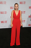 "9 August 2018-  Westwood, California - Julia DeMars. Premiere Of STX Films' ""Mile 22"" held at The Regency Village Theatre. Photo Credit: Faye Sadou/AdMedia"