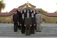 The Men's Gymnastics Team, 2001.