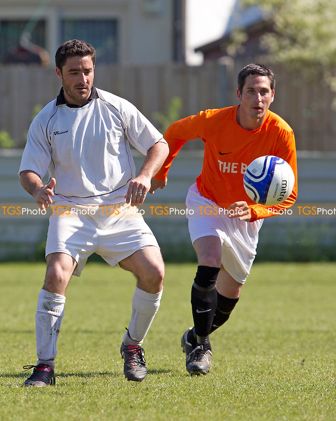 Rolls Park (white) vs Albert Royals - East London Sunday League Dick Coppick Cup Final at Wadham Lodge - 27/05/12 - MANDATORY CREDIT: Ray Lawrence/TGSPHOTO - Self billing applies where appropriate - 0845 094 6026 - contact@tgsphoto.co.uk - NO UNPAID USE.