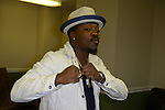 MIAMI, FL - SEPTEMBER 20: (EXCLUSIVE COVERAGE)Anthony Hamilton backstage during the 'Back To Love Tour' at James L Knight Center on Saturday September 20, 2014 in Miami, Florida. (Photo by Johnny Louis/jlnphotography.com)