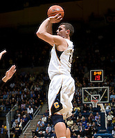 Harper Kamp of California shoots the ball during the game against UCSB Gauchos at Haas Pavilion in Berkeley, California on December 19th, 2011.   California defeated UC Santa Barbara, 7-50.
