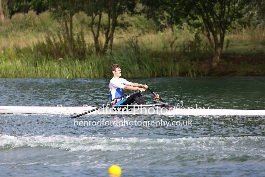 Race: 129: J14 1x  Final<br /> <br /> Peterborough Summer Regatta 2017 - Saturday<br /> <br /> To purchase this photo, or to see pricing information for Prints and Downloads, click the blue 'Add to Cart' button at the top-right of the page.
