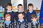 Junior Infants in Castledrum NS Castlemaine on Wednesday (school has a no name policy)