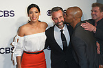 Stephanie Sigman, Jay Harrington, Shemar Moore and Kenny Johnson arrive at the CBS Upfront at The Plaza Hotel in New York City on May 17, 2017.