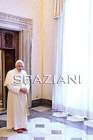 Benedict XVI meeting:Serbia's President Boris Tadic,Czech Prime Minister Jan Fischer,Nov.14, 2009
