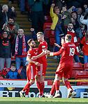 03.03.2019 Aberdeen v Rangers: Sam Cosgrove celenrates his goal
