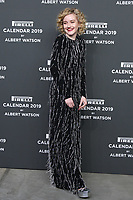 Julia GARNER,(actress),at the red carpet of the Pirelli Calendar launch 2019,Hangar Biccoca,MILANO,05.12.2018 Credit: Action Press/MediaPunch ***FOR USA ONLY***