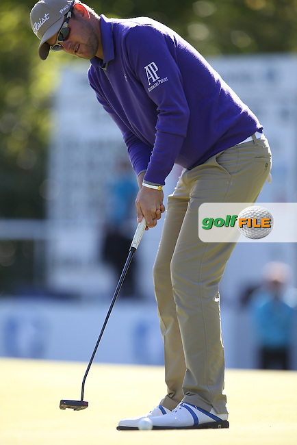 Bernd Wiesberger (AUT) during Round One of the 2015 BMW PGA Championship over the West Course at Wentworth, Virginia Water, London. 21/05/2015Picture David Lloyd, www.golffile.ie.