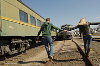 Rachel Emmons--Shane Burridge @ the Danbury Railway Museum