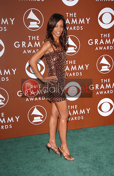 Shaun Robinson<br />at the 48th Annual GRAMMY Awards. Staples Center, Los Angeles, CA. 02-08-06<br />Dave Edwards/DailyCeleb.com 818-249-4998