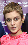 """Denise Gough attends The American Associates of the National Theatre's Gala celebrating Tony Kushner's """"Angels in America"""" on March 11, 2018 at the Ziegfeld Ballroom,  in New York City."""