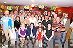 John Mulcahy, Marrion Terrace, Killarney who celebrated his 30th birthday in Corkery's Bar on Thursday night. He is pictured with Noreen Ryan, Marion Lyons, Noreen Mulcahy and Aoife Ryan Lynch and his many friends.   Copyright Kerry's Eye 2008