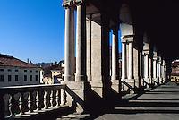 Piazza dei Signorie, Basilica von Andrea Palladio, Vicenza,  Venetien, Italien, Unesco-Weltkulturerbe