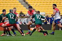 Heartland Championship - Horowhenua Kapiti v Wairarapa Bush at Westpac Stadium, Wellington, New Zealand on Sunday 1 October 2017.<br /> Photo by Masanori Udagawa. <br /> www.photowellington.photoshelter.com