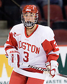 Kasey Boucher (BU - 3) - The Boston University Terriers defeated the Providence College Friars 5-3 on Saturday, November 14, 2009, at Agganis Arena in Boston, Massachusetts.