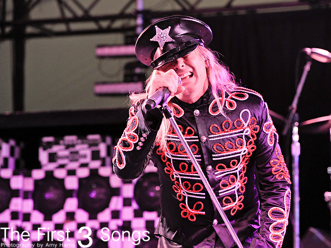 Robin Zander of Cheap Trick performs during Day 3 of the Voodoo Experience at City Park in New Orleans, Louisiana on October 30, 2011.