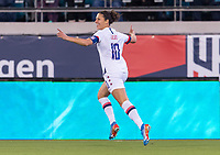 , FL - : Carli Lloyd #10 of the United States celebrates during a game between  at  on ,  in , Florida.