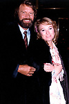 Glen Campbell and Tanya Tucker leaving the NBC Building on January 15, 1981 in New York City.