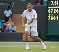 Alexandr Dolgopolov<br /> <br /> Tennis - The Championships Wimbledon  - Grand Slam -  All England Lawn Tennis Club  2013 -  Wimbledon - London - United Kingdom -Saturday  29th June  2013. <br /> &copy; AMN Images, 8 Cedar Court, Somerset Road, London, SW19 5HU<br /> Tel - +44 7843383012<br /> mfrey@advantagemedianet.com<br /> www.amnimages.photoshelter.com<br /> www.advantagemedianet.com<br /> www.tennishead.net