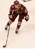 Caroline Ross (BC - 25) - The Boston College Eagles defeated the Boston University Terriers 3-2 in the first round of the Beanpot on Monday, January 31, 2017, at Matthews Arena in Boston, Massachusetts.