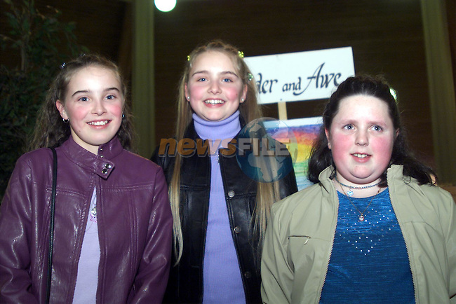 Sephorah Carroll, Avril Power and Linda Martin pictured at their confirmation in Ardee..pic: Newsfile